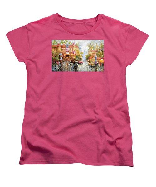 Rainy Day 3 Women's T-Shirt (Standard Cut) by Dmitry Spiros