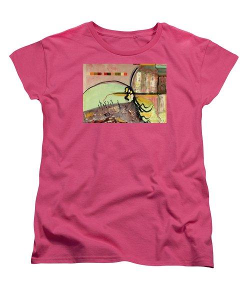 Rational Thought Begins Here Women's T-Shirt (Standard Cut)