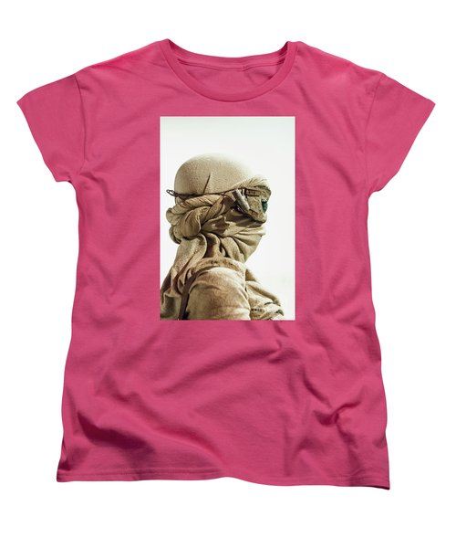 Women's T-Shirt (Standard Cut) featuring the photograph Ray From The Force Awakens by Micah May