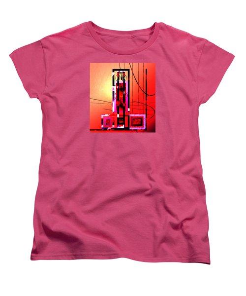 Re-cycled Art Women's T-Shirt (Standard Cut) by Andrew Penman