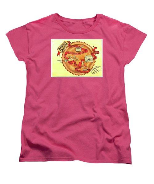 Recipe-butternut Squash Pie Women's T-Shirt (Standard Cut)