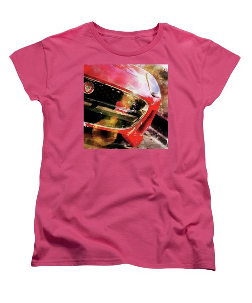 Red Jag Women's T-Shirt (Standard Cut) by Robert Smith