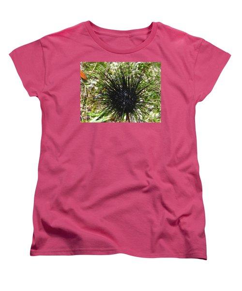 Reef Life - Sea Urchin 1 Women's T-Shirt (Standard Cut) by Exploramum Exploramum
