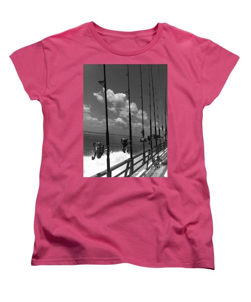 Reel Clouds Women's T-Shirt (Standard Cut) by WaLdEmAr BoRrErO