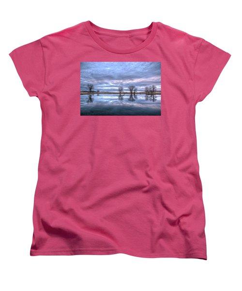 Reflections Women's T-Shirt (Standard Cut) by Fiskr Larsen
