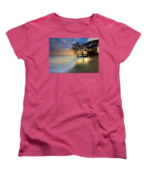 Reflections Of Paradise Women's T-Shirt (Standard Cut) by Mike  Dawson