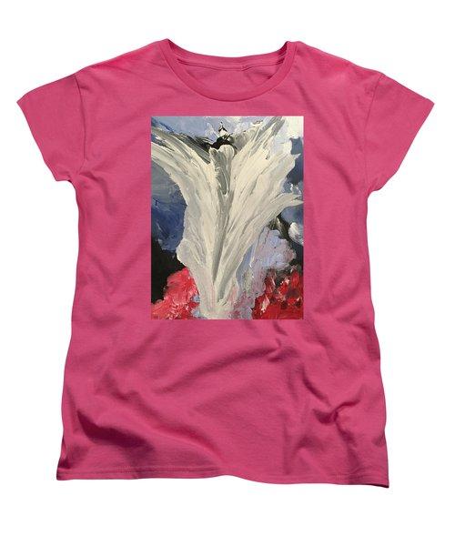 Rejoice Women's T-Shirt (Standard Cut) by Karen Nicholson
