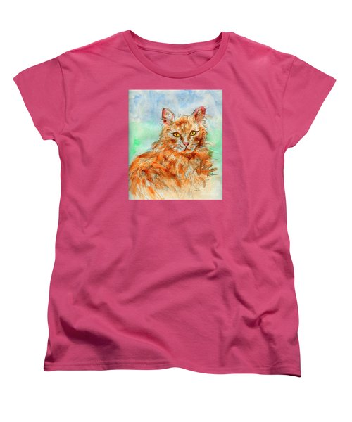 Remembering Butterscotch Women's T-Shirt (Standard Cut) by P J Lewis
