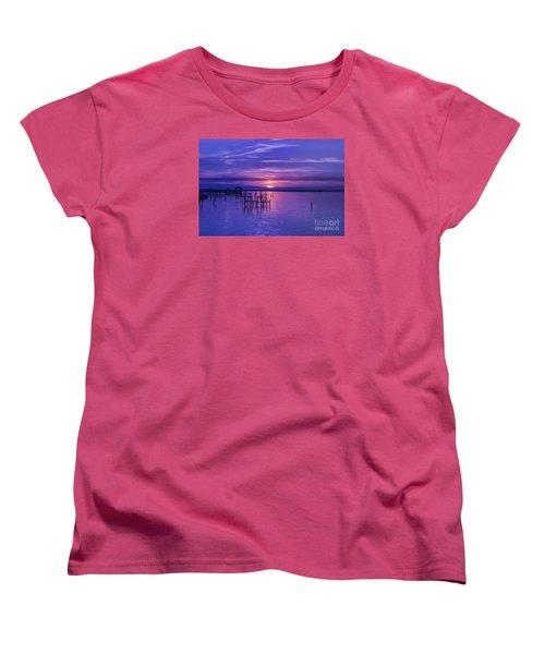 Rest Well World Women's T-Shirt (Standard Cut) by Roberta Byram