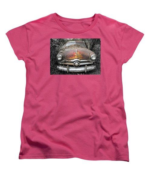 Retired Women's T-Shirt (Standard Cut) by Patrice Zinck