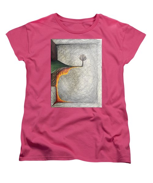 Right Universe Women's T-Shirt (Standard Cut) by Steve  Hester