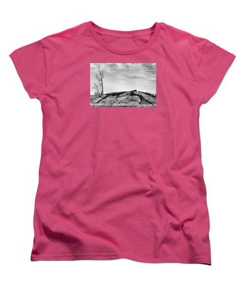 Rise Women's T-Shirt (Standard Cut) by Ryan Manuel