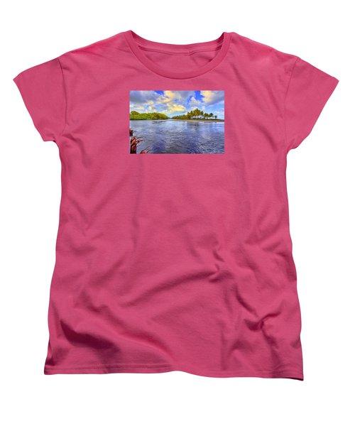 River Island Women's T-Shirt (Standard Cut) by Nadia Sanowar