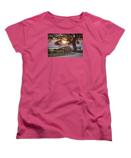 River Walk Women's T-Shirt (Standard Cut) by Phil Mancuso