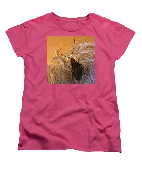 Roach Hair Clip Women's T-Shirt (Standard Cut) by Roger Swezey