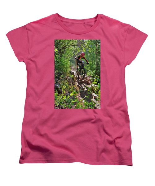 Rock Hopping #30 Women's T-Shirt (Standard Cut) by Matt Helm