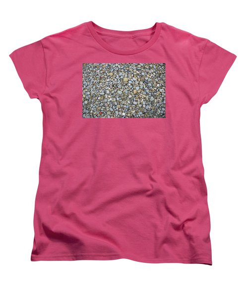Women's T-Shirt (Standard Cut) featuring the photograph Rocky Beach 1 by Nicola Nobile