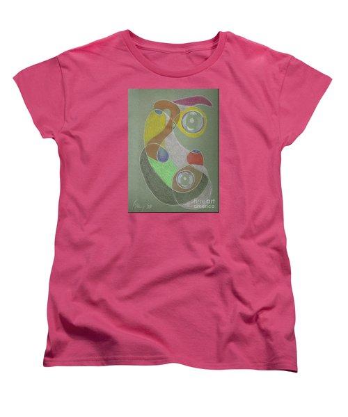 Roley Poley Vertical Women's T-Shirt (Standard Cut)