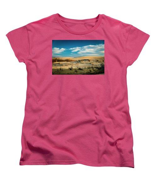 Rolling Sand Dunes Women's T-Shirt (Standard Cut)