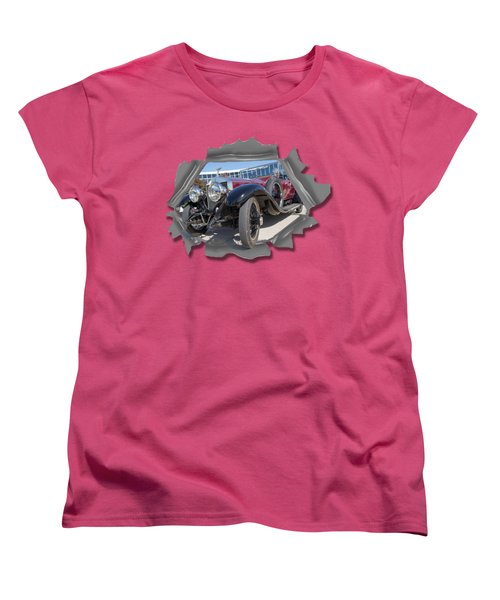 Rolls Out  T Shirt Women's T-Shirt (Standard Cut) by Larry Bishop