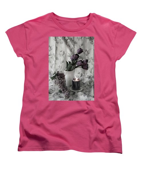 Women's T-Shirt (Standard Cut) featuring the photograph Romantic Thoughts by Sherry Hallemeier