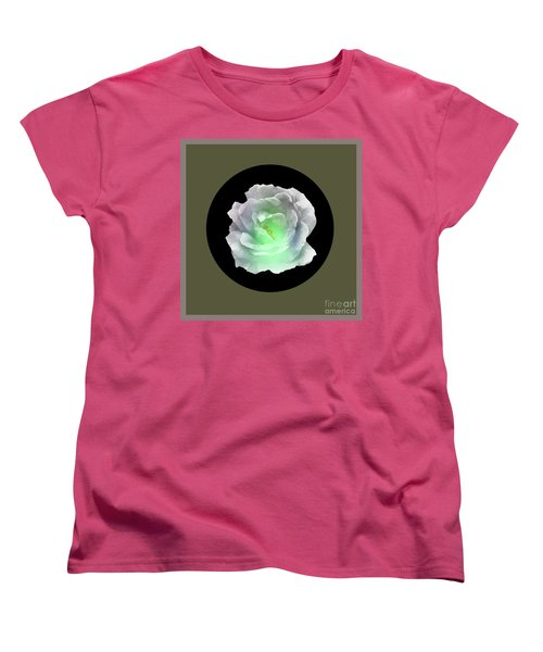 Rose 8-4 Women's T-Shirt (Standard Cut) by John Krakora