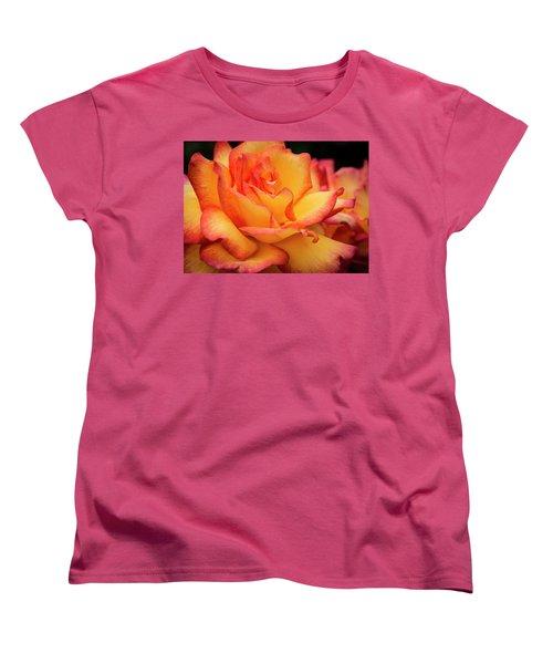 Women's T-Shirt (Standard Cut) featuring the photograph Rose Beauty by Jean Noren