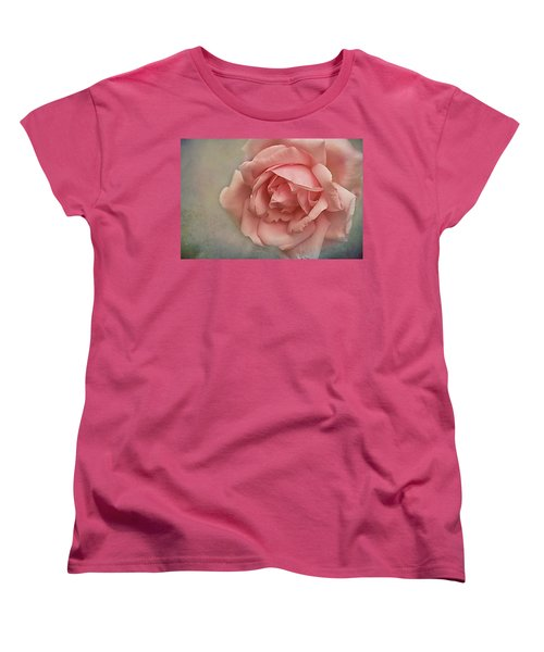 Rose New Dawn Women's T-Shirt (Standard Cut) by Jacqi Elmslie