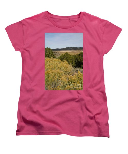 Rt 72 Utah Women's T-Shirt (Standard Cut) by Cindy Murphy - NightVisions
