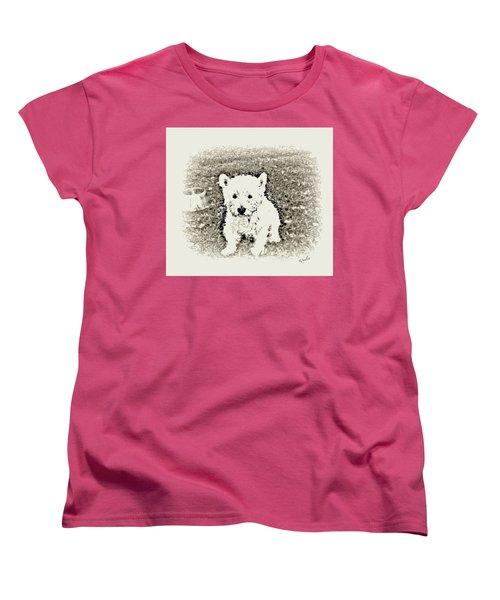 Ruby Women's T-Shirt (Standard Cut) by YoMamaBird Rhonda