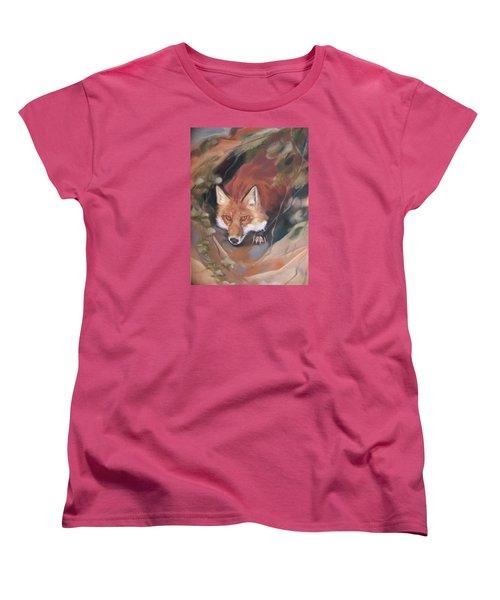 Rudy Adult Women's T-Shirt (Standard Cut) by Marika Evanson