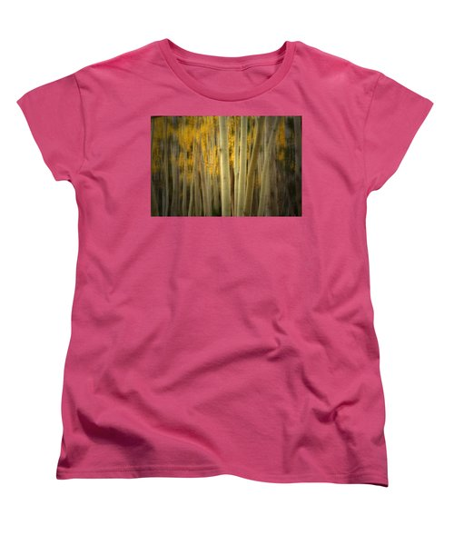Women's T-Shirt (Standard Cut) featuring the photograph Run Wild  by Mark Ross
