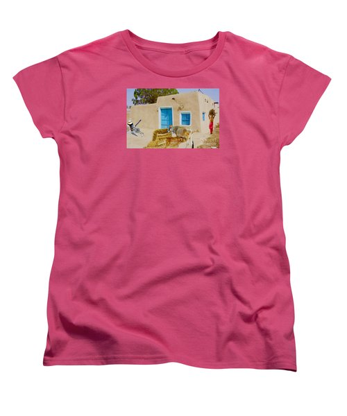 Rural Life  Women's T-Shirt (Standard Cut) by Manjot Singh Sachdeva