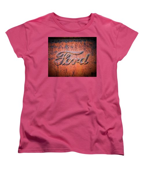 Rust Never Sleeps - Ford Women's T-Shirt (Standard Cut)