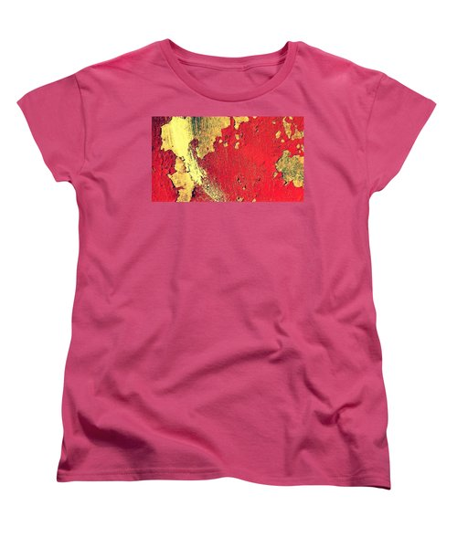 Rust Women's T-Shirt (Standard Cut) by Paulo Guimaraes