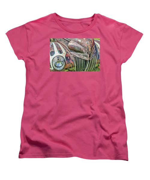 Rusty Road Warrior Women's T-Shirt (Standard Cut) by David Lawson