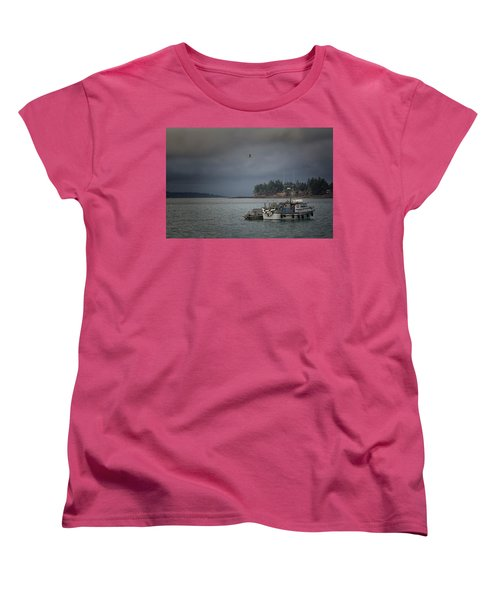Women's T-Shirt (Standard Cut) featuring the photograph Ryan D by Randy Hall