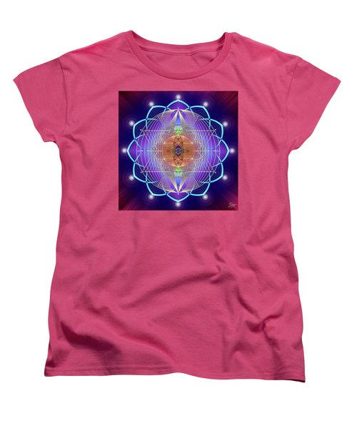 Sacred Geometry 641 Women's T-Shirt (Standard Cut) by Endre Balogh