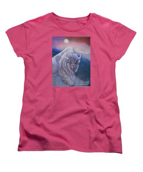 Sacred White Buffalo Women's T-Shirt (Standard Cut)
