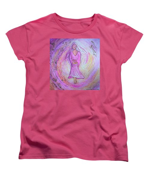 Sacred Woman Women's T-Shirt (Standard Cut) by Gioia Albano
