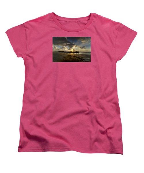 Safe Shore 04 Women's T-Shirt (Standard Cut) by Arik Baltinester