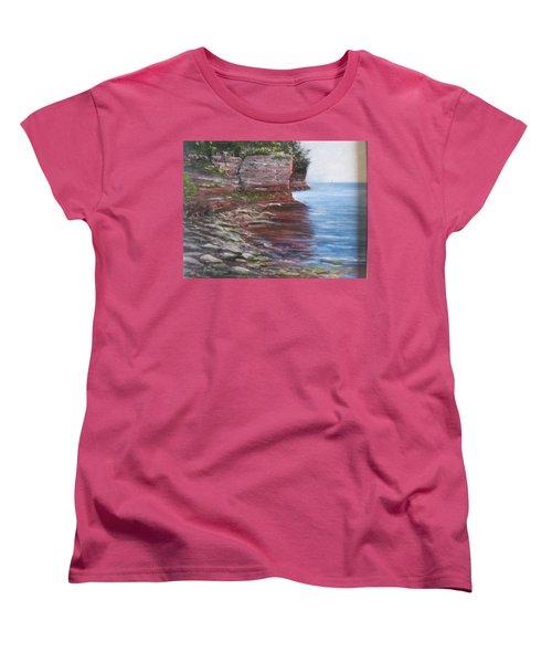 Sail Into The Light Women's T-Shirt (Standard Cut)