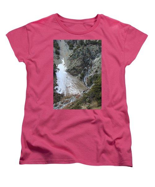 San Antonio Waterfalls Women's T-Shirt (Standard Cut) by Viktor Savchenko