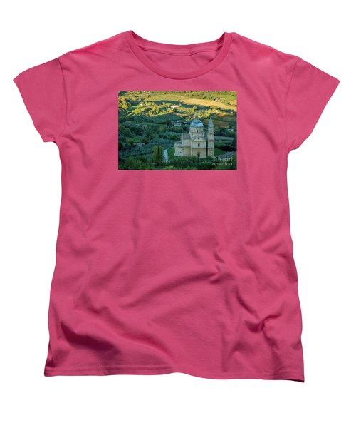 Women's T-Shirt (Standard Cut) featuring the photograph San Biagio Church by Brian Jannsen