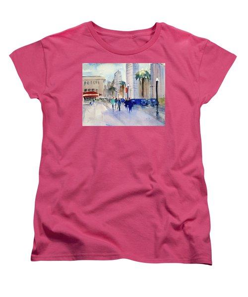 San Francisco Embarcadero1 Women's T-Shirt (Standard Cut) by Tom Simmons