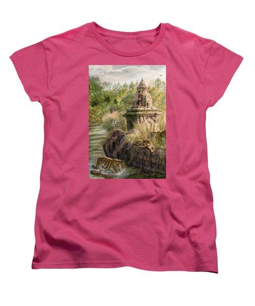 Sanctuary Women's T-Shirt (Standard Cut) by Don Olea