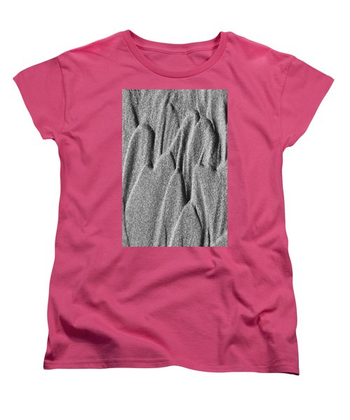 Women's T-Shirt (Standard Cut) featuring the photograph Sand Castle by Yulia Kazansky