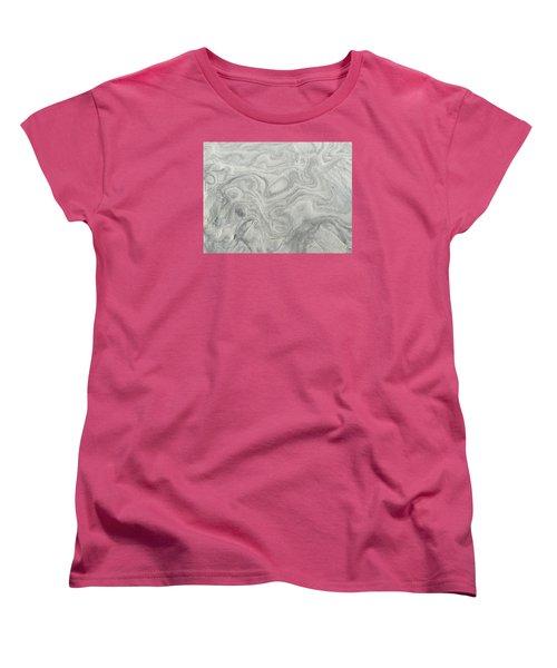 Sand Sculpture Women's T-Shirt (Standard Cut) by Christine Lathrop