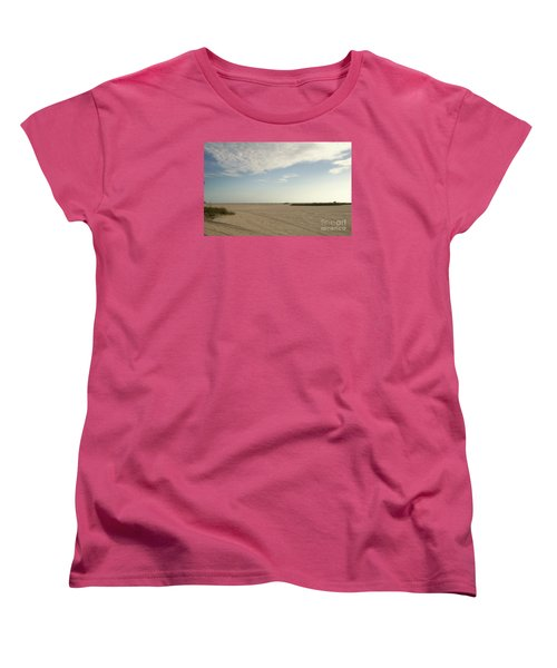 Sand Storm At St. Pete Beach Women's T-Shirt (Standard Cut) by Gail Kent