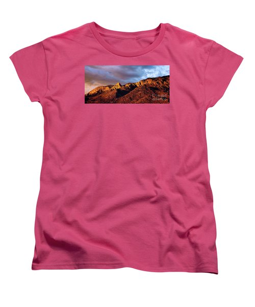Women's T-Shirt (Standard Cut) featuring the photograph Sandia Beauty by Gina Savage